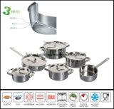 Vaisselle de cuisine Sc585 de corps matériel de Composited de 3 plis