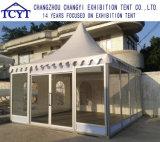 アルミニウム耐久の防水ガラス壁の望楼の塔のテント