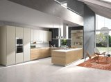 Isaland Art-hoher Glanz-modularer Küche-UVentwurf