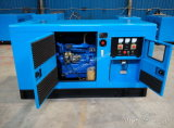Gerador diesel Soundproof 5kw~250kw do motor de Weifang do tipo de China