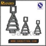 Tirones de encargo de la cremallera del metal de los accesorios de la ropa para la ropa