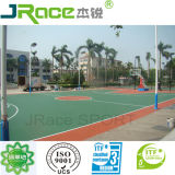 Silicon PU Soft Rubber Basketball Court