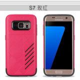 Caixa resistente do telefone da tecnologia da armadura para a galáxia S7 de Samsung
