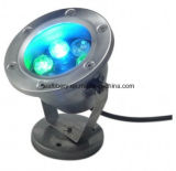 DC12V DMX RGB LED 6W Round Outdoor Underwater LED Lights per Fountains