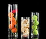 Vase en plastique clair à acrylique de vase à décoration de vase