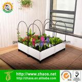 Cama levantada Multifunctional plástica do jardim para a jardinagem Home