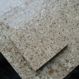 Laje grande material da pedra de quartzo da faísca da laje da bancada da cozinha (161012)