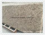 Laje de pedra amarela do granito de China para telhas da bancada ou da engenharia