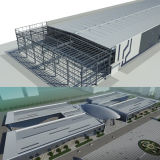 Промышленный h Section Light Steel Building с Best Design и Fabrication