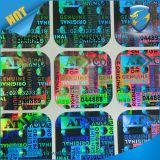 Naar maat gemaakte 3D Laser Holgraphic Sticker
