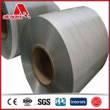 Enroulement en aluminium enduit par pierre en bois