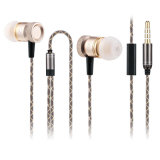 Mobile PhoneのためのアマゾンHot Selling Metal Stereo Earphone