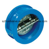 던지기 Iron 또는 Ductile Iron Butterfly Check 벨브 Wafer Check Valve