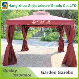 Gazebo de jardim de jardim ao ar livre de 3X4m com rede de parede lateral