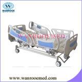 met Lange Siderails Vijf Bed van het Ziekenhuis van Functies het Elektrische