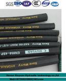 flexibler hydraulischer Gummischlauch des gewundenen Hochdrucköl-306-1b