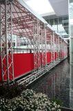 Bequemer Fertigung-Ausstellung-Hintergrund-Binder