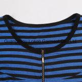 Camiseta del chaleco de la venta de la muchacha diseñada Amierican caliente del sexo con la correa
