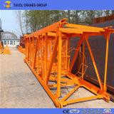 Qtz80 (6010) Model6ton Hoogste Zwenkende Kranen op Verkoop