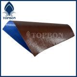 Bâche de protection ignifuge Anti-UV de PE pour la couverture Tb010 de toit