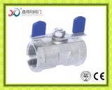 1 продетый нитку PC шариковый клапан нержавеющей стали плавая с сертификатом Ce