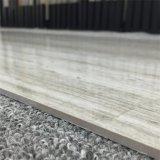 磨かれた磁器の薄いタイルライン石デザイン灰色カラー