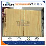 Tuiles bon marché de plafond de PVC de conception en bois