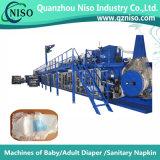 세륨 (YNK400-HSV))를 가진 반 자동 귀환 제어 장치 전문화된 아기 기저귀 생산 라인