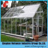 el vidrio ultra claro/bajo de 6m m plancha el vidrio de cristal/transparente del vidrio/Cristal