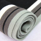 Gli uomini adattano la sciarpa lavorata a maglia acrilica di inverno (YKY4334)