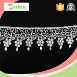 Красивейший шнурок химиката шнурка граници Saree платья Weddng