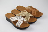 Toe Flat Sandal Lady Flip Flops öffnen für Leisure Zeit