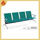 بيع مطار الفولاذ المقاوم للصدأ شاطئ كرسي معدني في انتظار الرئيس