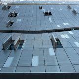 El panel compuesto de la fachada de aluminio para la oficina fuera de la pared