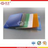 Strato vuoto di plastica del policarbonato con rivestito UV