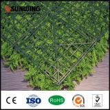 Parete artificiale delle piante verdi del PE professionale cinese del fornitore