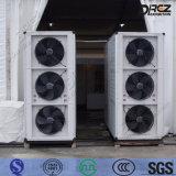 Большой упакованный промышленный охладитель воздуха соединяется с шатром