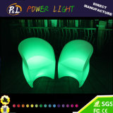 Glowing Confortable Single LED Bar Furniture LED Bar Stool