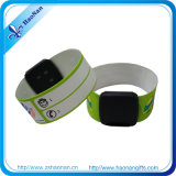 Plastic Clip를 가진 NFC Waterproof PVC Material Wristband