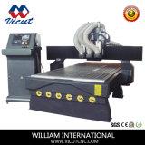 Máquina de mudança do eixo do router da gravura de madeira do CNC auto (VCT-1325ASC3)