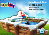 Hot Selling White Mechanical Snowboard Ride