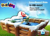 Paseo mecánico blanco vendedor caliente del Snowboard