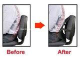 Cojín del asiento de coche de la ayuda de la parte posterior del acoplamiento del amortiguador del masaje