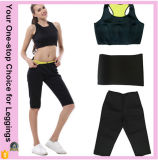 Tamanho Plus Hot Thermo Lady Women Sweat Sauna Sexy Slimming Shaper Short Yoga Fitness Neoprene Pants