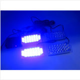 12V 22LED*4 LED WARNING-blinkendes Licht, blinkendes Röhrenblitz-Licht des Auto-88LEDs