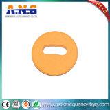 Tag Washable da lavanderia de 860-960MHz RFID para o vestuário