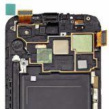 Affichage à cristaux liquides d'étalage de noir de prix bas pour Samsung Note2