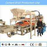 Blocchetto di pavimentazione solido del mattone della cavità automatica del cemento che fa macchina