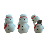 PVC USB Flash Drives Kerstman Shape USB Stick