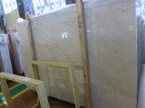 Un marbre poli de qualité Crema Marfil Marble